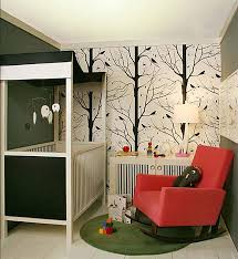 Small baby room ideas Girl Nursery View In Gallery Small Nursery With Contemporary Flair Decoist Tips For Decorating Small Nursery