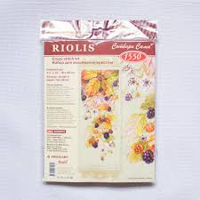 Hand Embroidery Kits Counted Cross Stitch Kit Riolis 1550