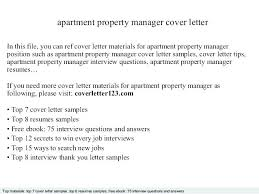 Sample Cover Letter For Apartment Leasing Agent Sample Apartment