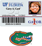 Gator Florida Card University Of 1 x1qAAw