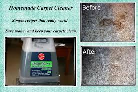 how to make homemade carpet cleaner