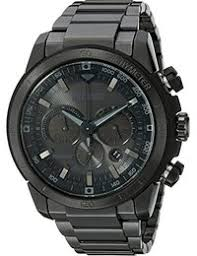 amazon com matte black watches clothing shoes jewelry citizen eco drive men s ca4184 81e ecosphere stainless steel watch