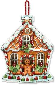Christmas Cross Stitch Charts Dimensions Counted Cross Stitch Kit Gingerbread House