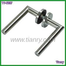 l shaped stainless steel door handle