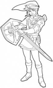 Check here zelda coloring pages which are completely free to download. Zelda Free Printable Coloring Pages For Kids