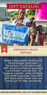 follow the apostle paul s exle to help bring emergency relief supplies to victims of disasters