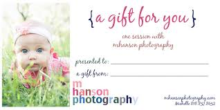 Photography Gift Certificate Template Gallery Creative Certificate