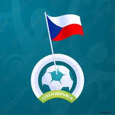 Spedizione gratuita per il 1° acquisto. Repubblica Ceca Bandiera Vettoriale Appuntato Ad Una Palla Di Calcio Vettore Stock Crushpixel
