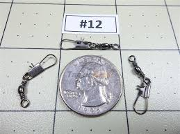 Details About 100x 12 Interlock Snap Barrel Swivel 30lb Strong Fishing Line Connector Usa