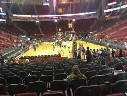 Town Toyota Seating Chart Toyota Center Section 114 Seat Views Seatgeek
