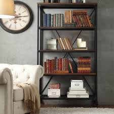 INSPIRE Q Nelson Industrial Modern Rustic 40-inch Bookcase | Overstock  Shopping - Great