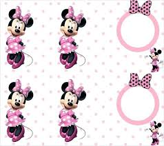 mickey mouse printable frames free party invitations in pink photo frame templates