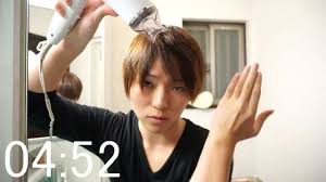 5分で髪セット ドライヤーのみでチャレンジ Youtube