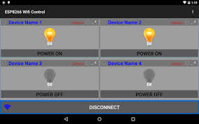 esp wifi control device android apps on google play  esp8266 wifi control device screenshot thumbnail