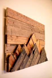 wood wall decor wooden mountain range wall art carved wood wall decor target