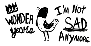the wonder years band logo. Exellent Logo For The Wonder Years Band Logo N