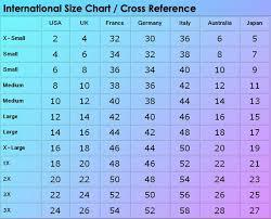 Size Chart International In 2019 Dress Size Chart Women