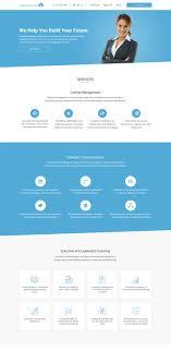 Professional Web Design Techniques Professional Elegant Management Consulting Web Design For