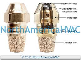 Oil Burner Nozzle Danfoss Hago 1 10 Gph 60 Degrees Spray Hollow A H Ah Ns Pl