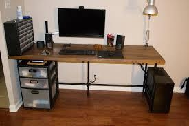 stuff qnix 27 1440p monitor ergotron lx desk mount bose companion 2 ikea tertial work lamp sab usb 3 0 hub akro mills hardware and craft cabinet