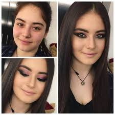 women before and after makeup pics