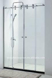 sliding glass shower doors. Stainless Steel Sliding Glass Shower Door Hardware\u0026frameless Enclosure Doors S