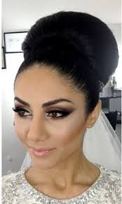 bride makeup eye smoked