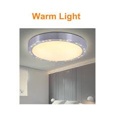 modern round led ceiling down light flush mount