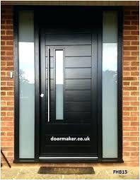 modern black front doors. Fine Front Modern Black Front Doors  Cozy Door  Exterior For