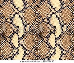 Snake Skin Pattern Simple Snake Skin Seamless Vector Pattern Reptile Seamless Texture Animal
