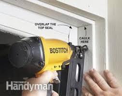 garage door trim sealFixing Garage Door Bottom Seal  The Family Handyman
