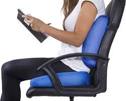 pharmedoc coccyx lumbar seat cushion combo 2 pack cushions for dimensions 4539 x 3648
