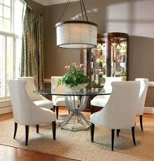 large round glass dining table dimension rovigo large glass chrome dining room table and 4 chairs set