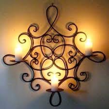 wood and iron wall decor wrought home framed stain glass fence