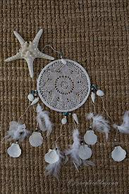 Beach Dream Catchers How to make a Doily Dream Catcher Songbird 17