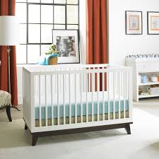 modern convertible furniture. view in gallery convertible crib with a dark base modern furniture t