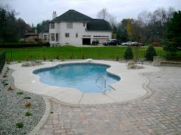 ... Outdoor Inspiration Outstanding Small Inground Pools With Shapeless  Form Pool Ideas And Backyard ...