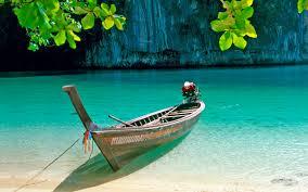 Boat And Natural Lock Screen 2560x1600 ...