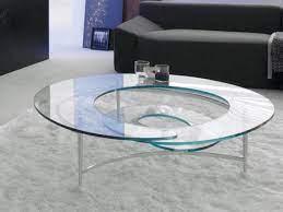 the futuristic spiral coffee table