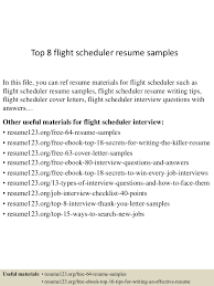 Scheduler Resume Sample Top224flightschedulerresumesamples224lva224app62249224thumbnail24jpgcb=224243224223224224 13