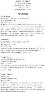 Job Reference Page Sample Chronological Resume Sheet Good Snapshot