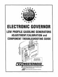 Electronic Governor Troubleshooting Guide - Low Profile Gasoline ...