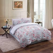 comforter sets skillful duvet and comforter sets ruched fl cotton bedding set com from