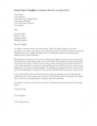 Cover Letter Cover Letter Customer Service Examples Great Customer