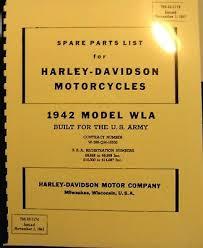 1942 harley davidson wla military parts