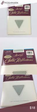 Vintage Hanes Soft Green Pantyhose 1990s New Pack Hanes Silk