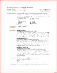Teaching Assistant Resume Example Free Sample Examples Resumes Job