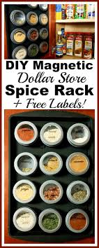 Spice Rack Ideas Best 20 Spice Cabinet Organize Ideas On Pinterest Small Kitchen