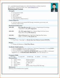 24 Outstanding Best Resume Model For Freshers Sierra