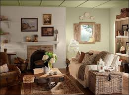 living room decor rustic
